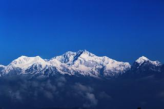 mount Kanchenjunga from Darjeeling