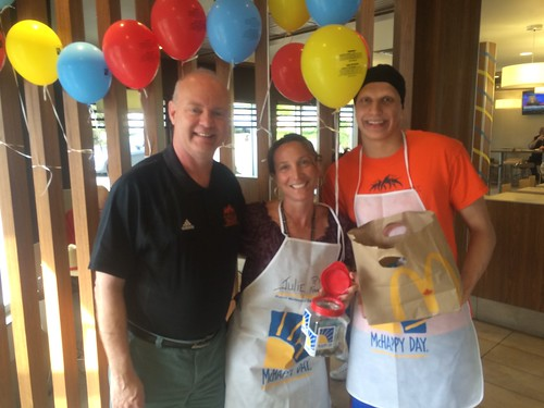 WolfPack Representing At 2016 McHappy Day