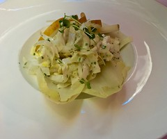 endive salad Cafe Claude