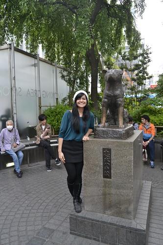 Estátua de Hachiko em Shibuya - Tóquio