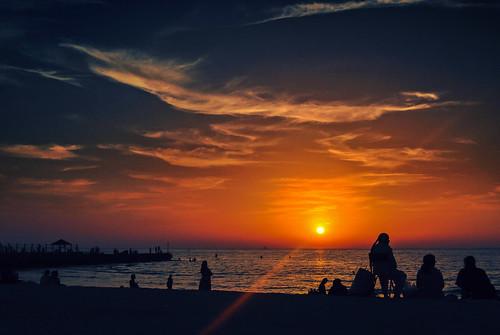 travel sunset sea summer sky sun seascape art texture colors clouds sunrise outdoors nikon dubai shadows serbia silhouettes explore nikkor seashore lightshadow caffe artland lightroom twop srbija 365dayproject artristic naturesoul emiraths