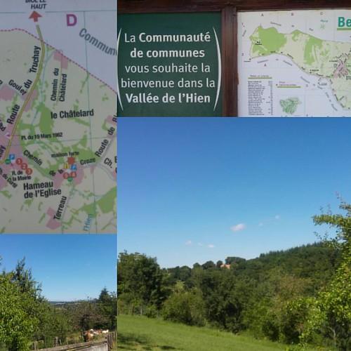 Et donc, Belmont est la vallée de l'Hien ce que j'ignorais totalement 😉  Je me mets en quête de l'église pour trouver le panneau des randonnées ?  #iloveit #belmontisere #38 #natura #natureaddict #nature #calme #verdure #rhonealpes #auvergnerhonealpe