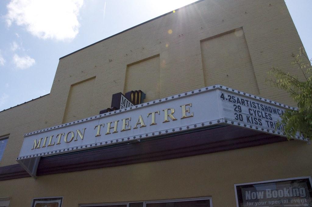 Milton Theatre Milton DE Retro Roadmap