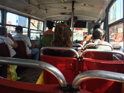 Bus de Trujillo à Chan Chan