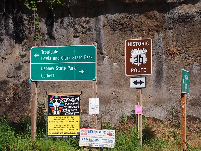 Historic US 30: My first sight of the old highway