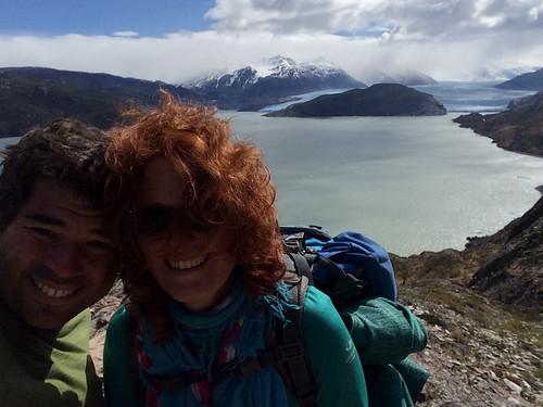 Torres del Paine: trek du W. Jour 5: le Lago et le Glaciar Grey. Quel vent ! ;)
