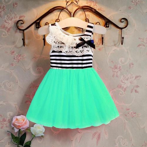 Baby Girls Dress Lace Neck Striped Bowknot Sleeveless Summer Dress Casual Flower Crochet Princess Party Dresses… http://dlvr.it/MSBfXS pic.twitter.com/J8FjFZAUrU