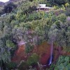 The parting shot from #Hawaii - the ultimate #GoPro #selfie (look hard) via the #DJIPhantom. Our house in the, unbelievably gorgeous, #WaipioValley on #TheBigIsland sat atop a cliff 1000 ft above the ocean with waterfall in between.