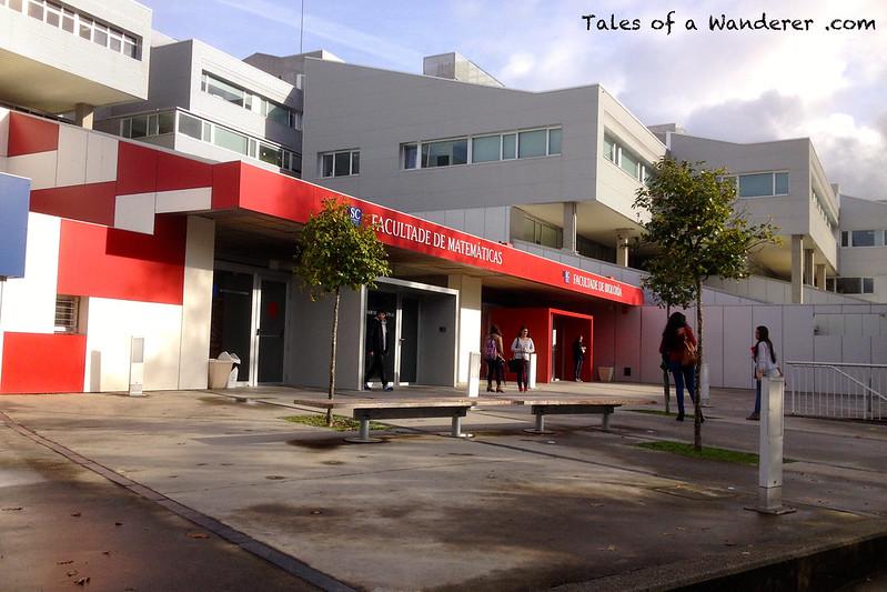 SANTIAGO DE COMPOSTELA - Facultade de Matemáticas / Facultade de Bioloxía