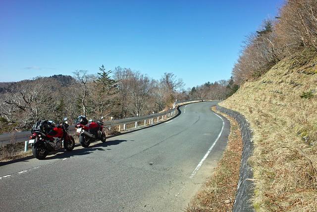 大台ケ原ドライブウェイとバイク
