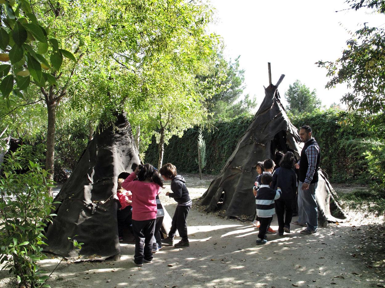 arqueopinto_prehistoria_vida cotidiana_cabañasexperiencia_colegios_cumpleaños_campamentoss