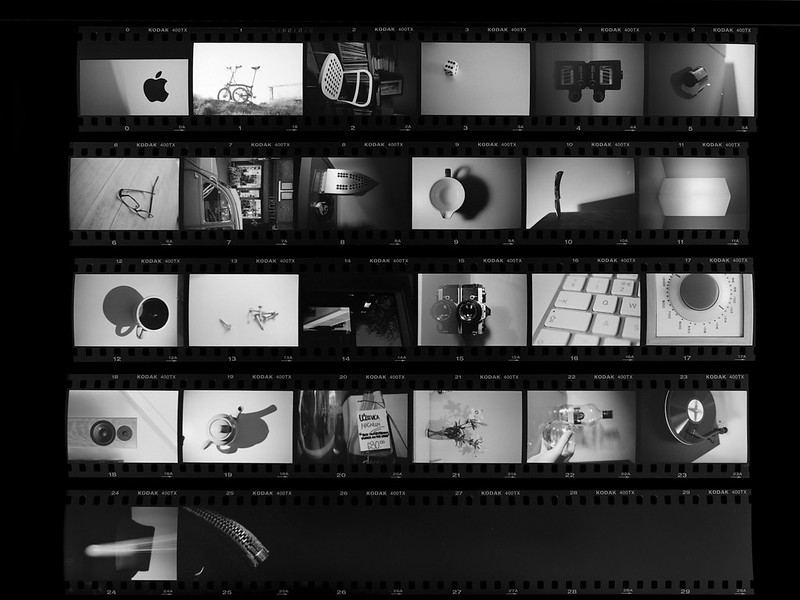 The Alphabet – one roll, in one day