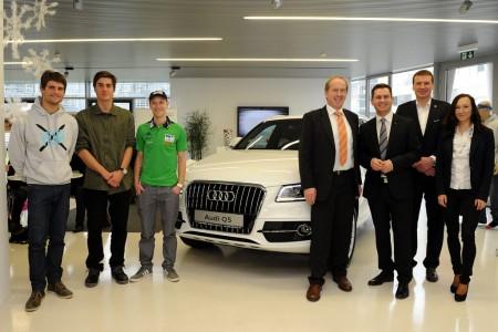 Nové partnerství: Svaz lyžařů & Audi