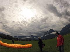 Paragliding field