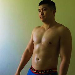 Muscle bear asian