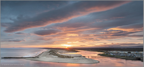 last sunrise scotland highlands final moray firth lossiemouth 2014
