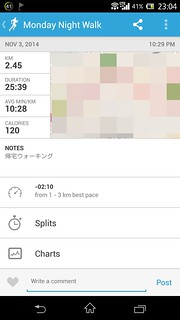 20141103_RunKeeper(Walking)