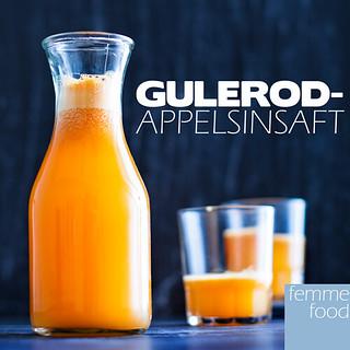 Gulerod-appelsinsaft