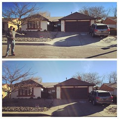 The Walter White House from Breaking Bad in Albuquerque NM. I am not the one who knocks!
