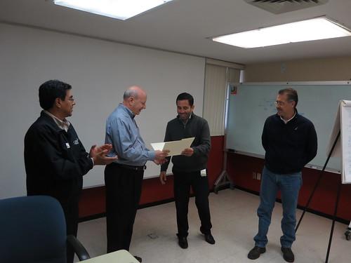 BIZPHYX SVP Bob Clancy at Condumex In Mexico, November 2014