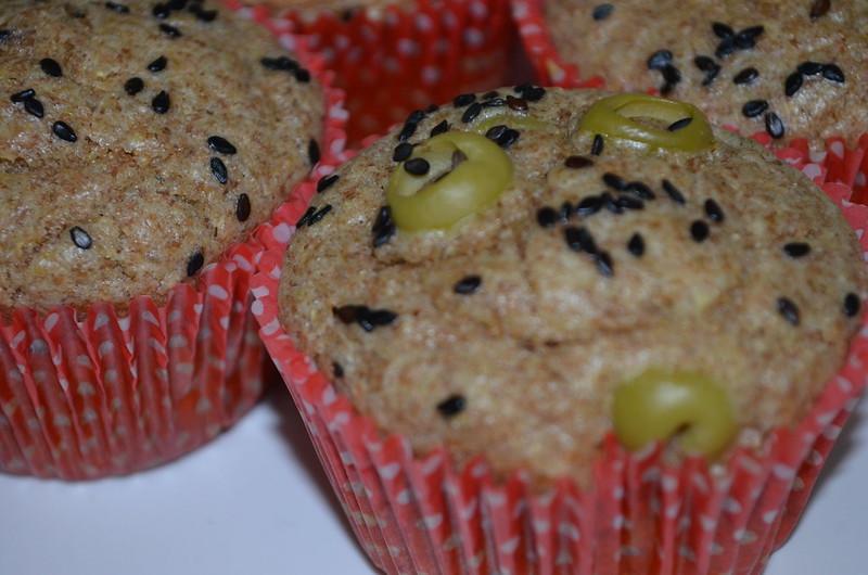Muffins de Azeitonas