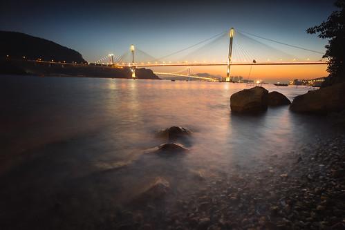 light sunset color jan sony voigtlander f45 01 alpha 日落 15mm a7 vm 2015 alpha7 夕 汀九橋 近水灣