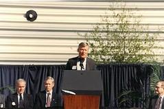 Dedication - FSU President Sandy D'Alemberte