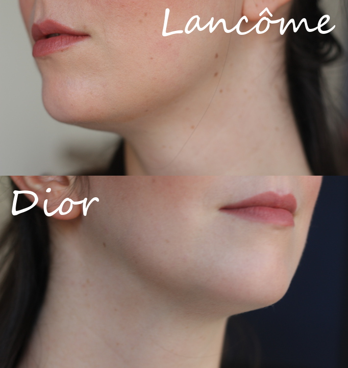 diorskin nude foundation review lancome teint miracle