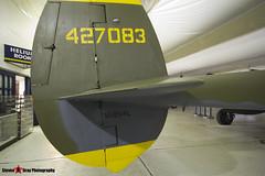 NX2114L 44-27083 5781 Tangerine - 422-8087 - Lockeed P-28L Lightning - Tillamook Air Museum - Tillamook, Oregon - 131025 - Steven Gray - IMG_8049