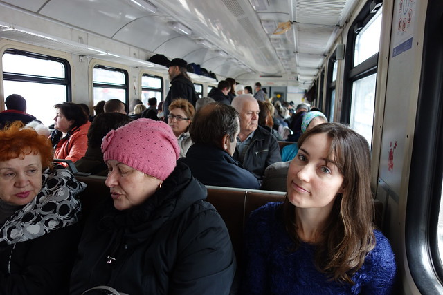 232 - En el tren a Sergiev Possad