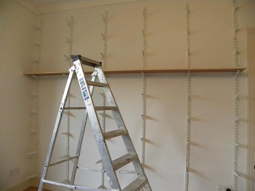 Livingroom shelves 1