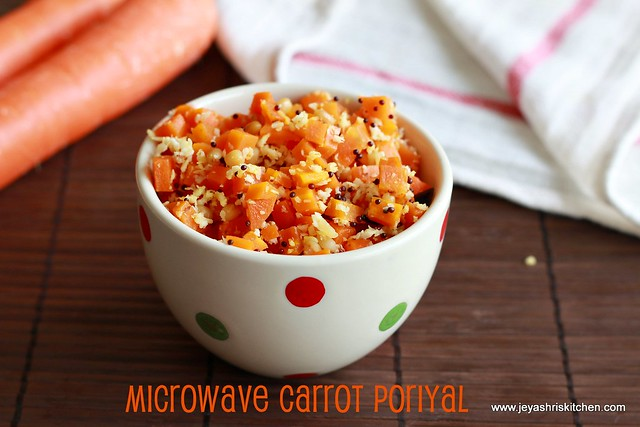 Carrot-poriyal