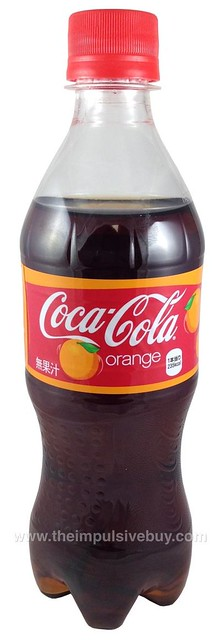 review coca cola orange japan the impulsive buy. Black Bedroom Furniture Sets. Home Design Ideas