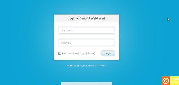 hướng dẫn cài đặt CentOS Web Panel