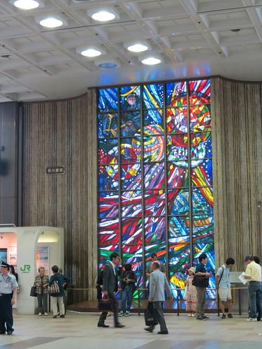 Inside Sendai Station
