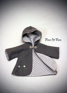Wool Coat for an 18 Inch Doll