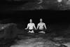 Meditating Cavemen