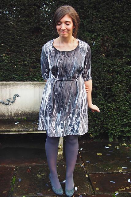 Self-draft dress