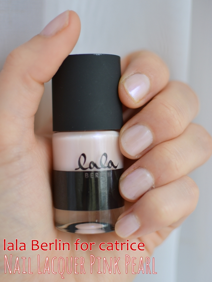 lala Berlin for catrice 08 nail laquer pink pearl