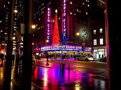 Radio City Music Hall at Christmas #xmas #nyc #holiday #lights #festive