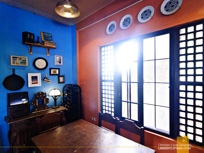 One of the Dining Niche at Nona's Kitchen in San Fernando, Pampanga