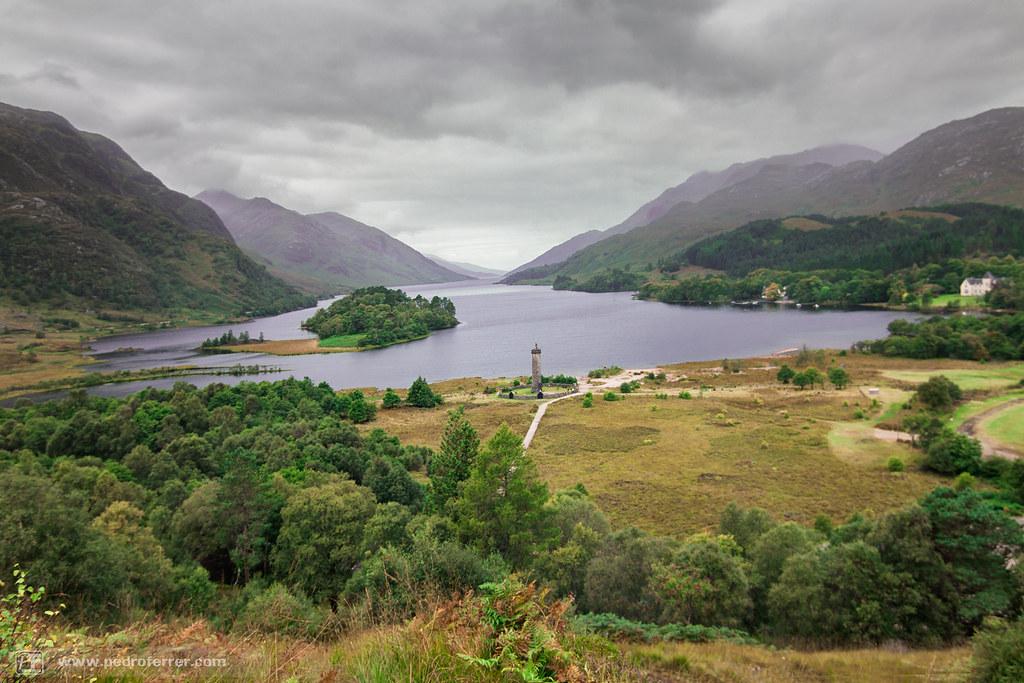 Loch Shiel en Glenfinnan  - Escocia