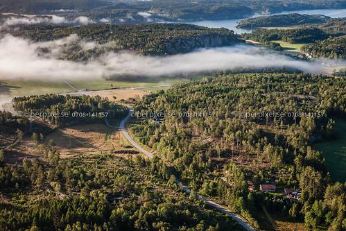 sverige swe hunnebostrand västragötaland flygfoto ödstoft