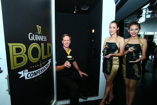 15. Bruce Dallas, Marketing Director of GAB at the Bold Confessions Booth