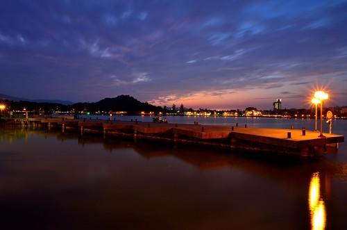 sunset taiwan kaohsiung 台灣 高雄 lotuslake 左營 蓮池潭 zuoying 夕彩
