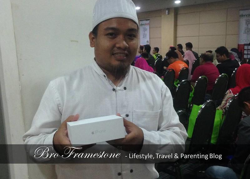 Pemenang iPhone 6 Akademi Denaihati