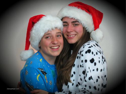 Pajama Siblings, by George Alger