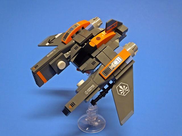 "[Vic Viper] Mini ""Hornet"" Strikefighter"