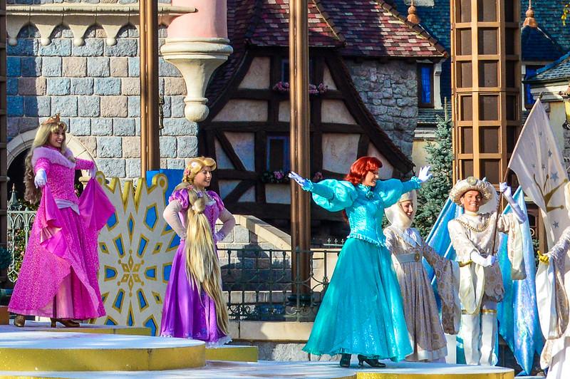 Princess Promenade Stage Show
