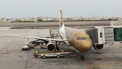 Gulf Air Airbus 330 at Bahrain Airport